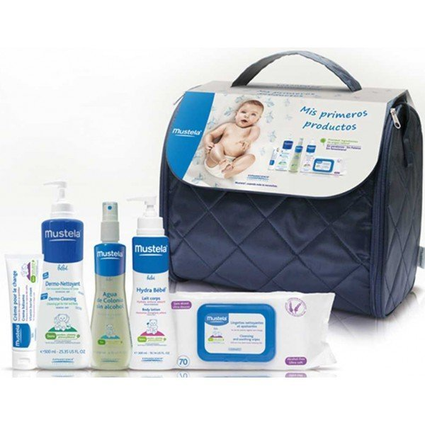 Baño Infantil Mustela:Inicio Parafarmacia Infantil Cuidado del bebé MUSTELA Bolsa mis