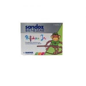 sandoz bienestar bifidus junior sobres monodosis flora intestinal infantil comprar